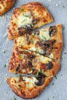 Flatbread Pizza on a tray
